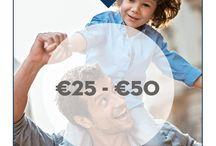 #LuckyDad - cadeaus €25 - €50