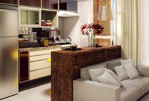 Sala & cozinha