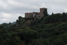 La Triana ( 18 km ) (Roccalbegna) / Salendo da Semproniano verso l'Amiata