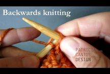 backward knitting