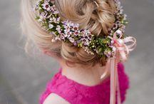 Flower girls flower crown