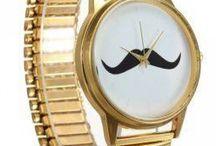 QuincyLabel - Golf Mustache Watchwrist