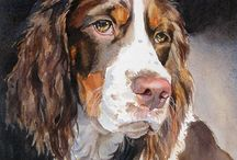 pinturas de perros ingleses