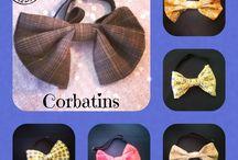 Corbatines / Corbatines handmade, personalizados.