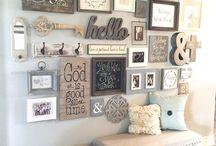 Decor on walls