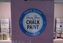 umGARNerei / umGARNerei in Bamberg, DE - Annie Sloan ChalkPaint Farben - eigene lokal gefertigte Produkte: Schmuck, Handtaschen, Kissen, Hundehalsbänder/leinen - Wohnaccessoires