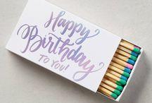 | birthday |