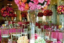 Pink Wedding Inspiration / pink wedding ideas, pink wedding flowers, pink wedding cake