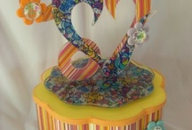 Valentine's Day Cake Ideas / Decorating ideas using Icing Images' products for Valentine's Day