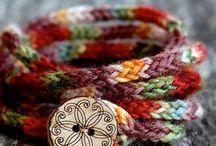 accesorios cordón crochet