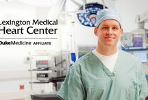 LMC Heart Center / Lexington County residents have a new choice in heart care: Lexington Medical Center. Our Heart Center offers comprehensive cardiovascular services — including angioplasty and open heart surgery — and is the region's only heart program with a Duke Heart Center affiliation. / by Lexington Medical Center