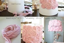 DIY shabby chic decor home
