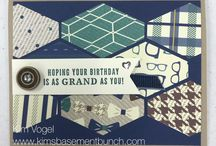 Stampin' Up Masculine Cards