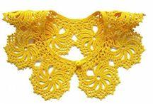 Crochet - аccessories / воротнички, шарфы, платки, шали