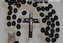 Rukousnauha eli ruusukko, Rosaries /  Käsintehtyjä rukousnauhoja. Hand made Rosaries.