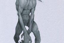 Strange Character Design