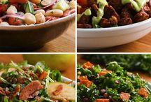 Proteinove šaláty zeleninové