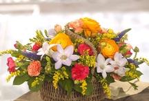 Flower Baskets / http://www.eflorist.co.uk/categories/flower-baskets.html