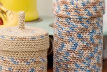 crochet baskets / by Eunice Luscombe