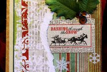 Christmas Cards I Make / Pulling out the supplies and making merry...