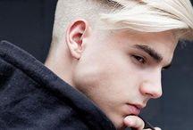 cortes e cores de cabelos para rapazes