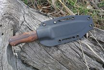 knives and sheaths from others