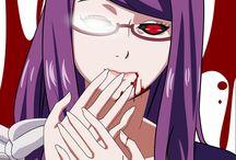 Anime Fan Art Tokyo Ghoul / Imagens sem fins lucrativos.
