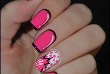 Pop art nails Inspirations - manicure inspirowany nurtem pop art