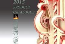 Monna Candles 2015 catalogue
