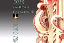 Monna Candles 2015 catalogue