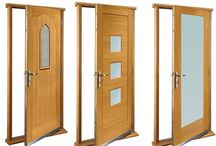 Doors for external door sets / Doors ready fitted to frames and ready for installation