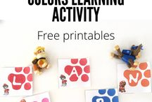 Learning Activities for the Kids