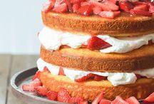 Tarta tarta de fresa