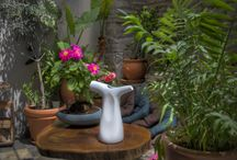 Two way ceramic Watering pot / 2-Way Watering pot is designed to provide gardeners with two alternative choices in watering plants by hand.
