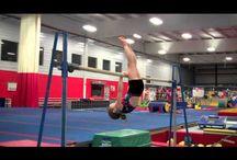 Gymnastics training drills