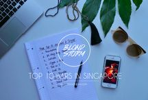 Singapore / My city guide for Singapore. Mon city guide pour Singapour.