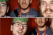 Pewds,Jack and Mark