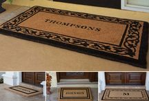 Residential Doormats / Get Personalized Coir Doormats and Welcome Mats For Your Home. Hundreds of Monogrammed Door Mats or Fully Personalized Doormats To Choose.