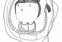 Ilustraciones de tejedores