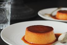 Pudding, Flan, Custard, Creme Brulee