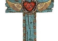 Cool Altered-Upcycled religious items