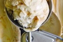 frozen dessert / Ice cream, sorbet, frozen yogurt.