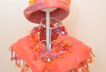 Felted Hats and Scarves to make