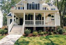 Southern Charm Homes / Southern Homes and Inspired Home Design Ideas and Decor