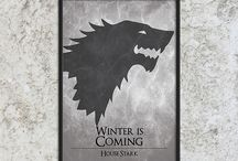 Game of Thrones Art Prints / Quotes inspired by Game of Thrones or A Song of Ice and Fire by George R R Martin - http://BlackSailsUK.etsy.com Game of Thrones art prints and cards