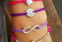 String Amulet Bracelets