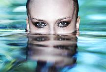 in het water moodboard