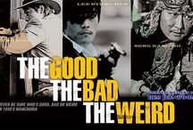 The Good The Bad The Weird / All things Jung Woo-Sung, Song Kang-ho, Byung-hun Lee and Kim Jee-Woon / by Myra Byrne