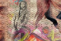 Highstreet Graphic Environment / Art Graphics Attached on wall, floor, any media with concept of london street style.
