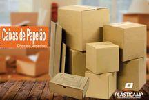 Caixas de Papelão / Todos os tamanhos de caixas de papelão.